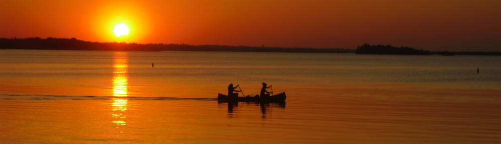 Intuition and Feelings - Internal signals provide guidance, even for a canoe at sunset.