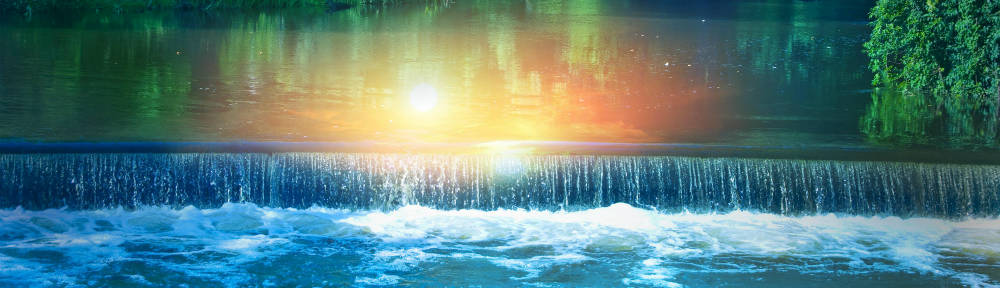 Daily Affirmations - waterfall