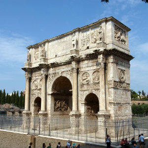 Arch of Emperor Constantine in Rome - The Origin of Christianity – What Can Historians and Archeologists Tell Us?