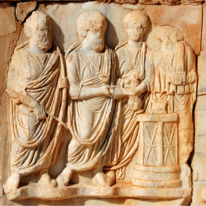 Statue of Four Evangelists - The Origin of Christianity – What Can Historians and Archeologists Tell Us?