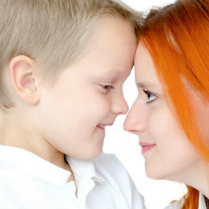 Love and Forgiveness - Are They Interdependent? Creating a Loving Space - Mom & son