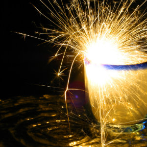 Love and Forgiveness - Are They Interdependent? The Spark Within - Sparks from glass