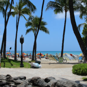 Facing Fear and Finding Peace - Waikiki-beach