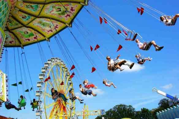 """Enjoy Yourself"" - A Gift of Gratitude - Amusement park"