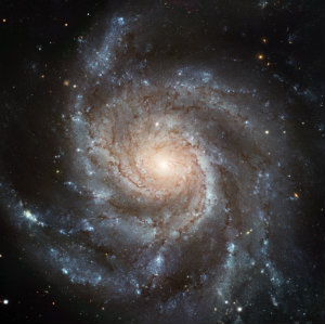 Pinwheel Galaxy - 23,000,000 light years away - M101