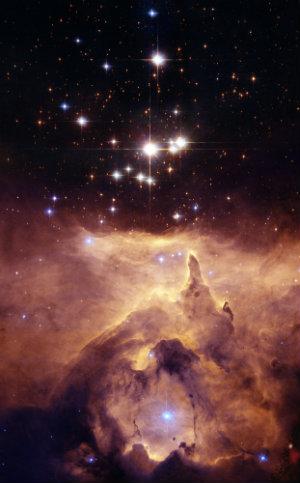 Primis 24 Nebula - 8,000 light years away