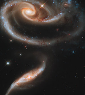 Spirals Galaxies - 300,000,000 light years away