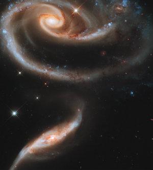 Spirals Galaxies - 300,000,000 light years away